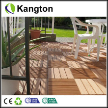 Decking impermeável de WPC do bloqueio de DIY (decking de WPC)